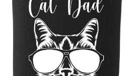 Cat Dad merch available!